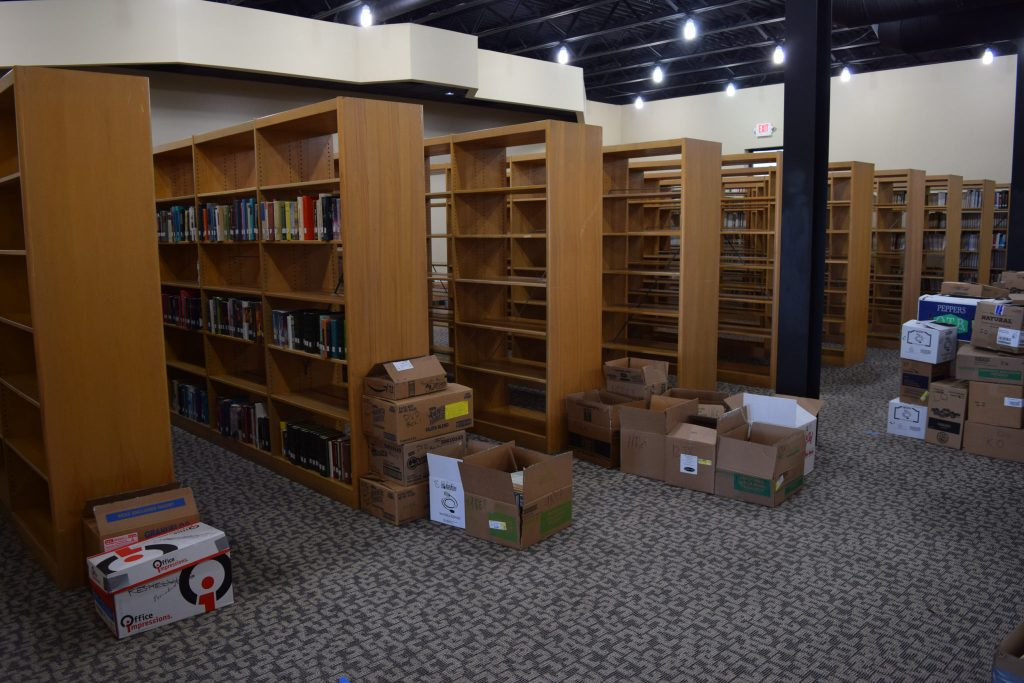 Library and Academic Center Move to New Location