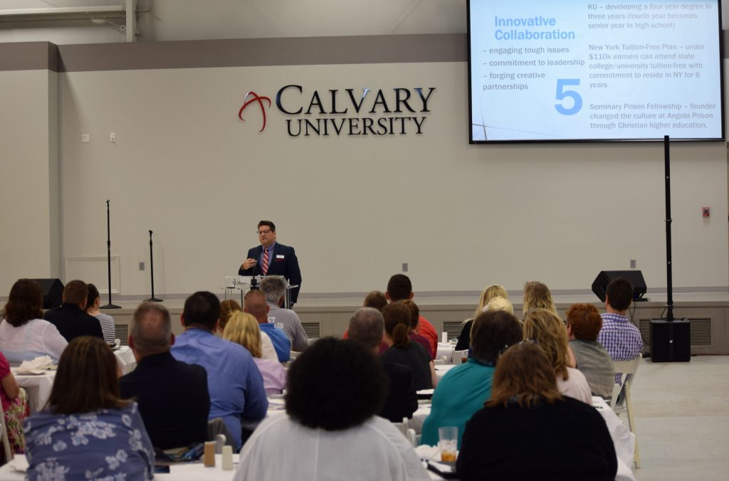 Calvary Hosts Cass County Coalition of Chambers