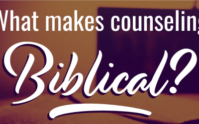 Christian Leader's Conference: What Makes Counseling Biblical?