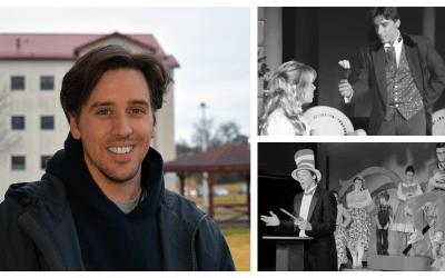 Alum Returns to Chair Theatre Department