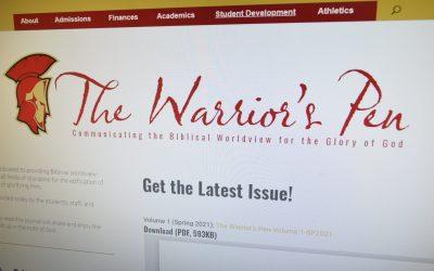 Get Volume 1 of The Warrior's Pen