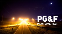 Pray, Give and Fast