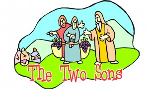Image result for two brothers parable