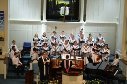 Pastor and Choir 4