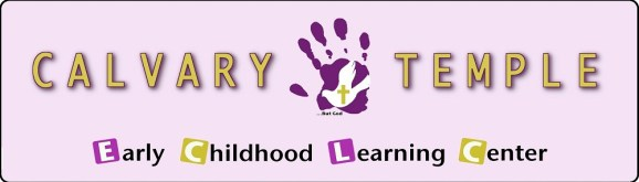 calvary temple early childhood learning center logo