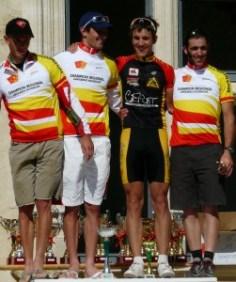 Les champions régionaux 2009 VTT XC