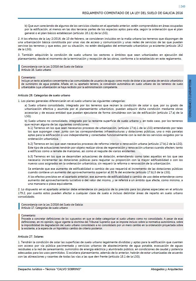 Código de la Ley del Suelo de Galici'