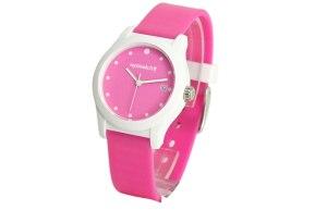 montre-plastique-homme-rose-blanc-couleur-2