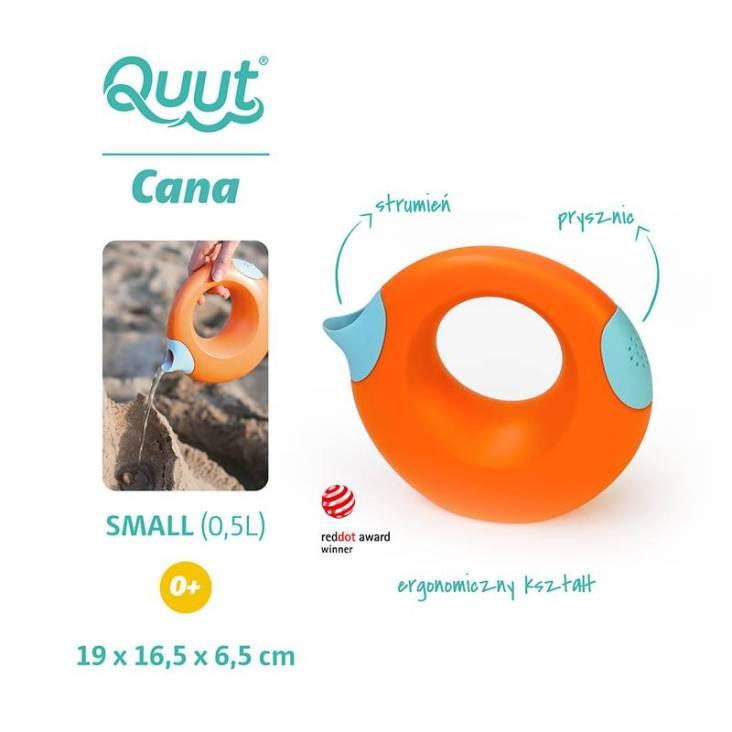 QUUT Konewka mała Cana Mighty Orange + Vintage Blue
