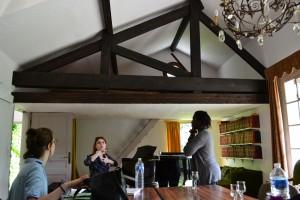 Cours de technique vocal - Grange du Moulin d'Andé - cours de jazz