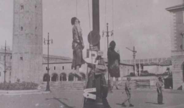 Silvio Corbari impiccagione