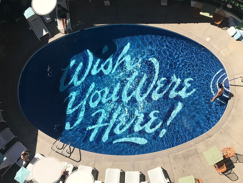 Places to Stay in Oahu, Hawaii: The Surfjack Hotel Pool - Wish You Were Here! #camandtay #camlee