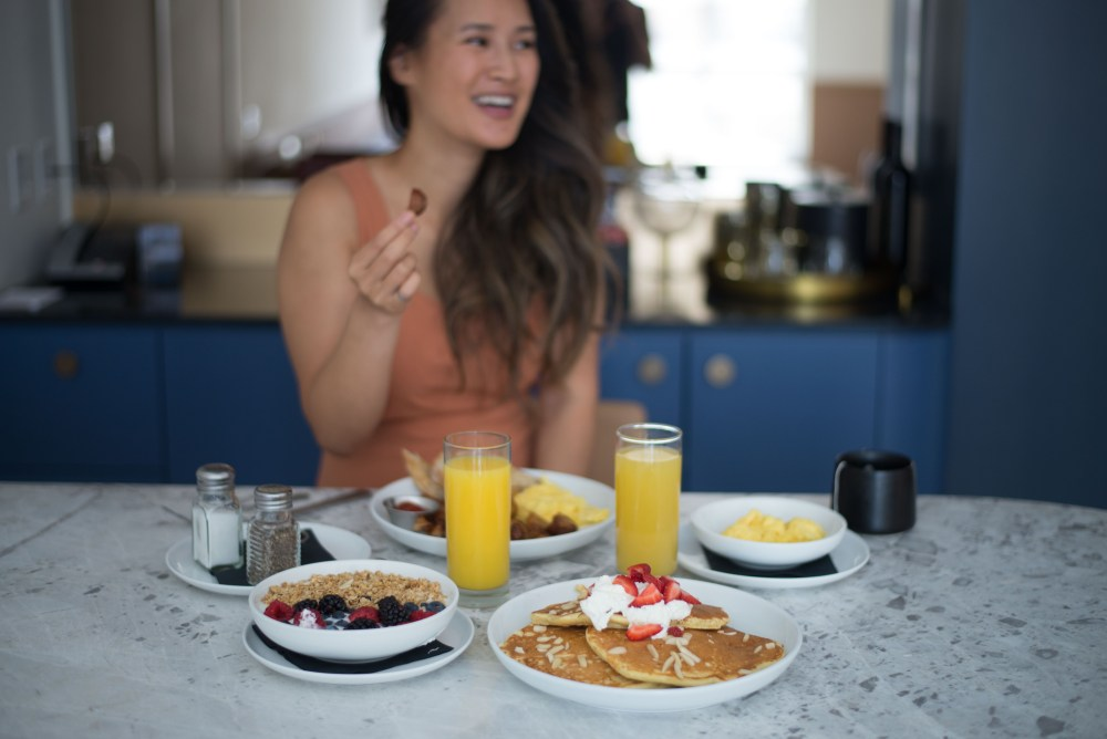 Where to stay in Toronto: Kimpton Saint George. Breakfast at the Fortunate Fox