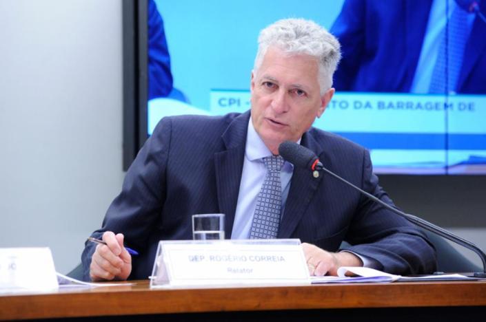 Reunião ordinária para tomada de depoimentos. Dep. Rogério Correia (PT-MG)