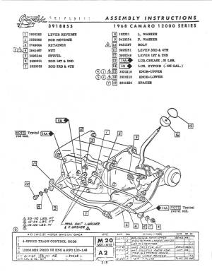 CRG Research Report  196769 Camaro Manual Transmission