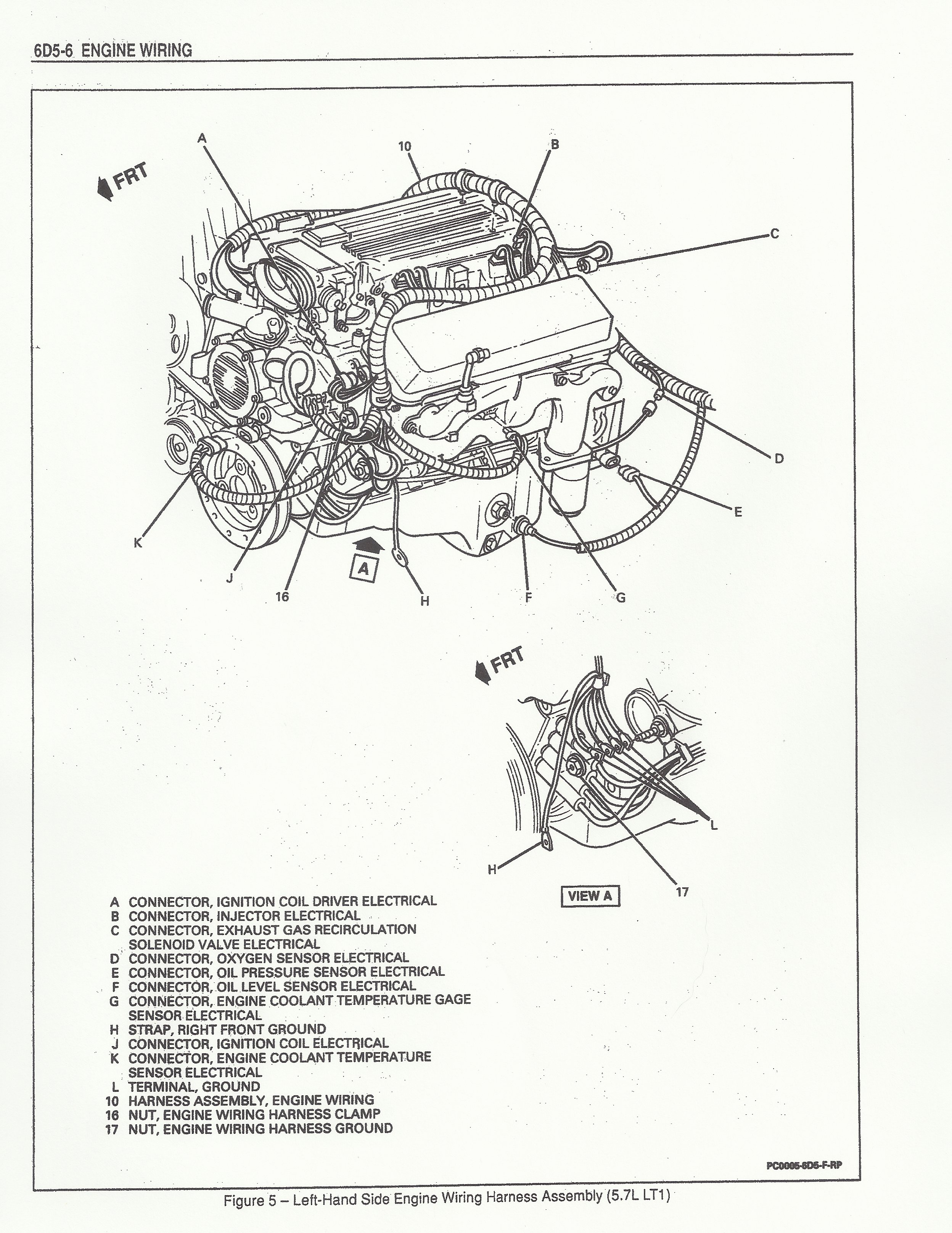old fashioned lt1 wiring harness diagram images best images for rh oursweetbakeshop info 1985 Corvette Wiring Diagram 1993 4L60E Transmission Wiring Diagram