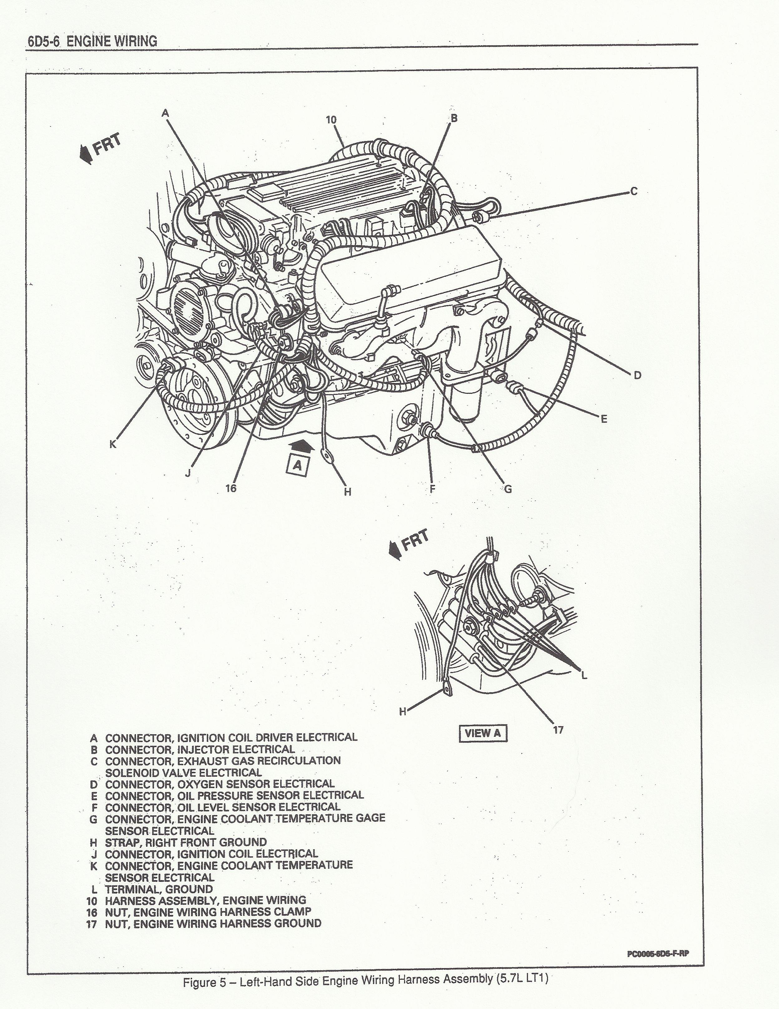 1995 Lt1 Wiring Harness Diagram Schematic | Wiring Liry  Lt Wiring Harness on 1995 lt1 camshaft, 1995 engine harness, 1995 lt1 corvette engine, 1995 camaro wiring harness, 1995 corvette wiring harness, 1995 lt1 swap,