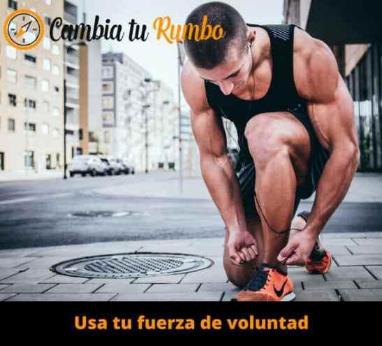 Usa tu fuerza de voluntad para empezar a hacer deporte
