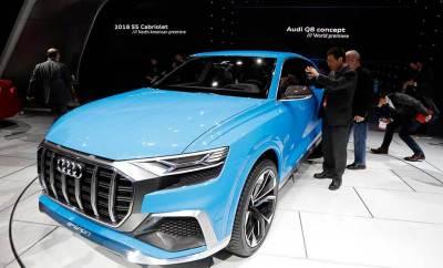 Audi Q8 Concept en Detroit