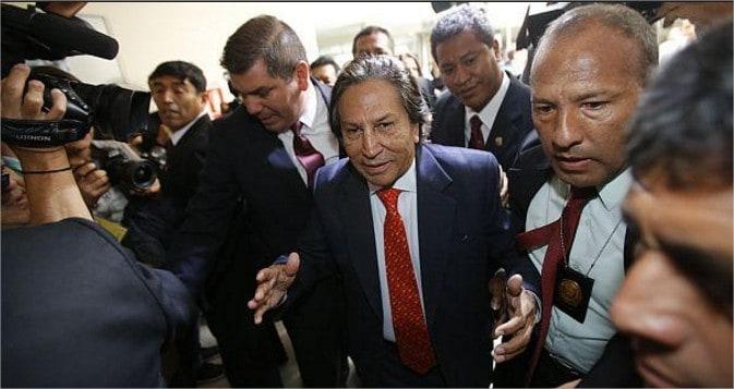 Perú: Orden de captura internacional contra expresidente Toledo