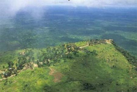 Aerial View of Preah Vihear