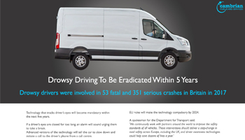 Drowsy Driving To Be Eradicated Within 5 Years – Infographic