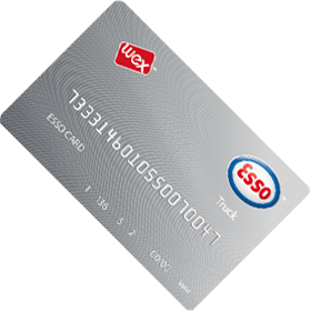 esso truck card rotated