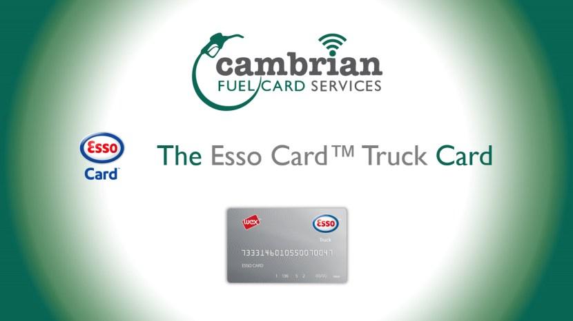 esso card truck card video