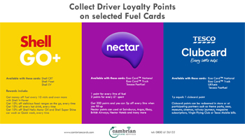 Collect Driver Loyalty Points Infographic