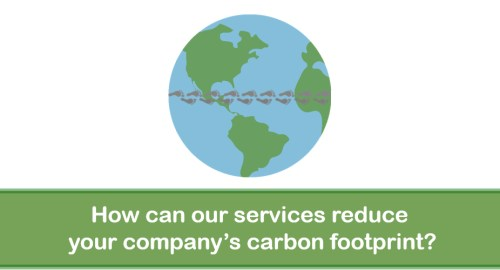 How can our services reduce your company's carbon footprint? – Video