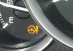 power steering warning light
