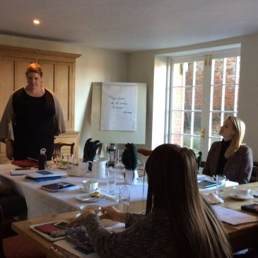 Food writing workshop with Karen Barnes of Delicious magazine