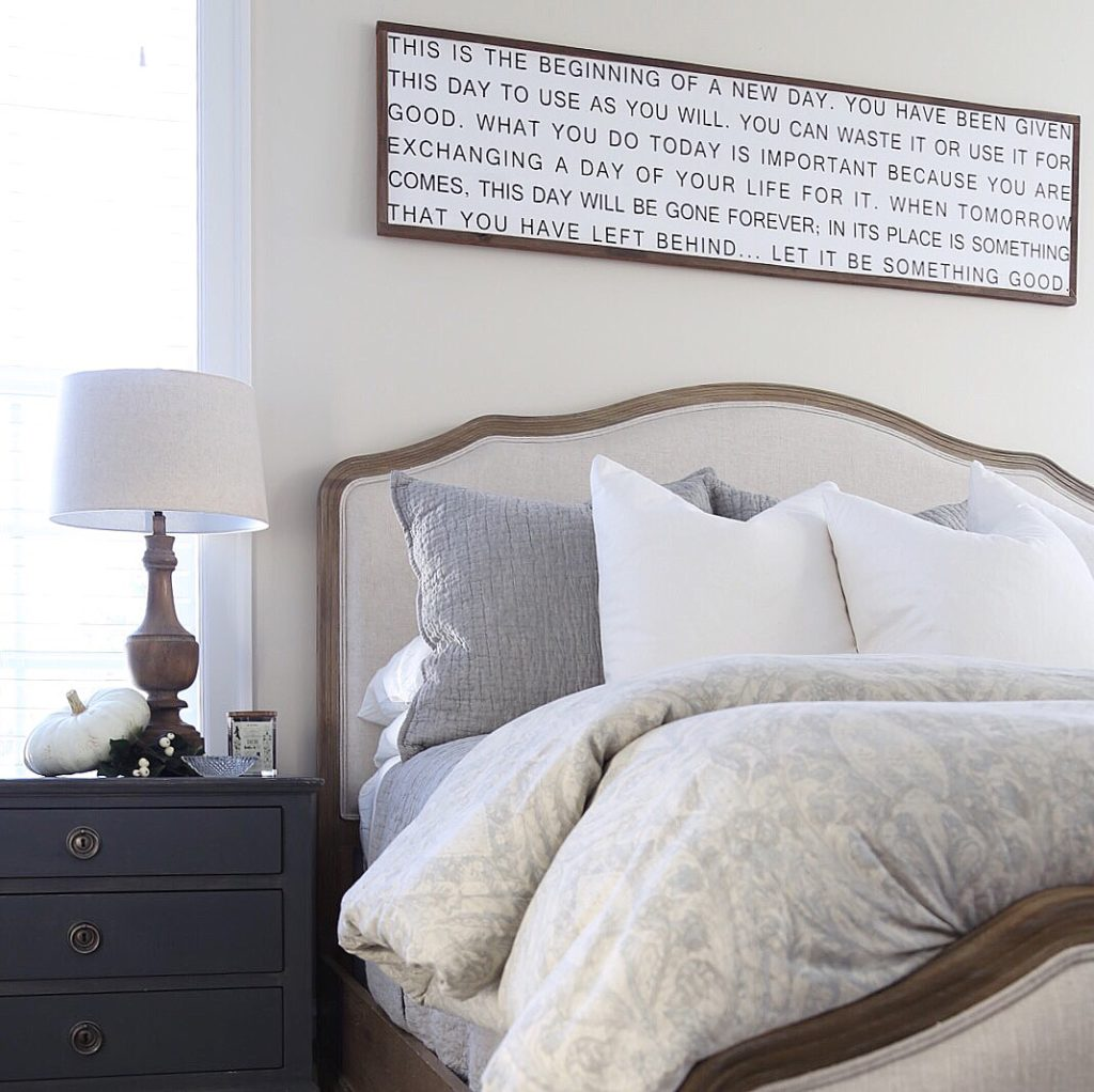Fall Master Bedroom Tour
