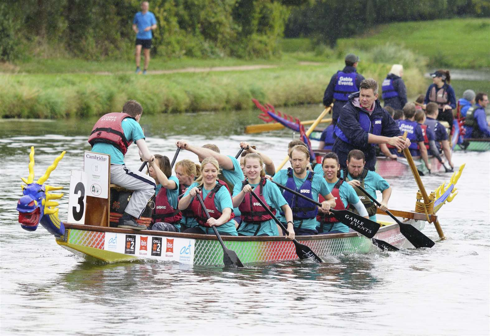 Dragon Boat Festival Returns To River Cam