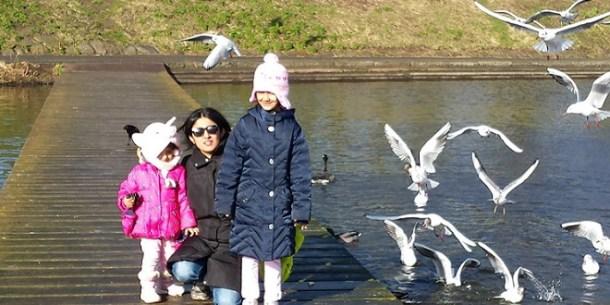 Dipika and kids