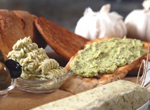 Basil Garlic Butter