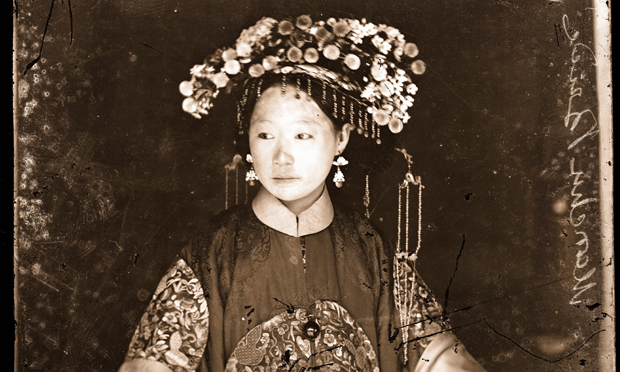 Detail from A Manchu Bride by John Thomson. Photograph © The Wellcome Library, London