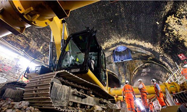 Crossrail 2 Connaught tunnel