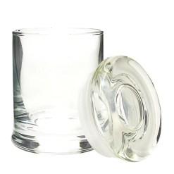 2oz Suction Lid Glass Jars