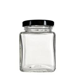 Glass Square Jars 4 oz