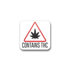 "THC Triangle Massachusetts - .75"" x .75"""