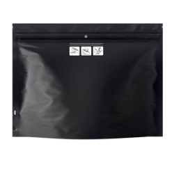 Dymapak Child Resistant Black Bags 12x9