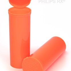 60 Dram Opaque Mango PHILIPS RX® Pop Top Containers