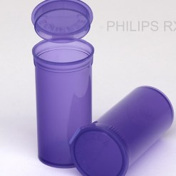 13 Dram Translucent Violet PHILIPS RX® Pop Top Containers