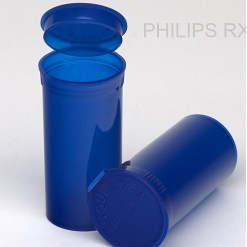 30 Dram Translucent Blue PHILIPS RX® Pop Top Containers