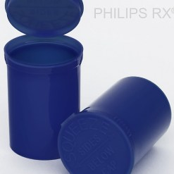 13 Dram Opaque Blueberry PHILIPS RX® Pop Top Containers