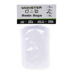 "3"" x 6"" 120 Micron Monster Dab Rosin Bag"