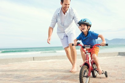 Image result for riding bikes with dad