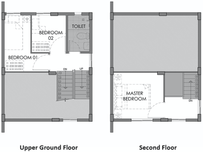 camella azienda cebu hanna second floor plan