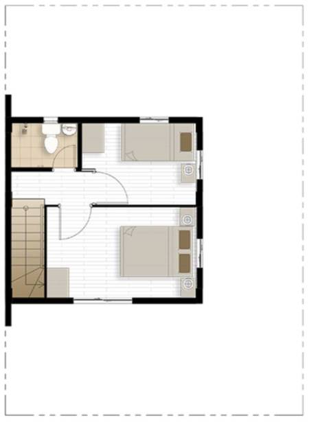 camella homes bella second floor plan